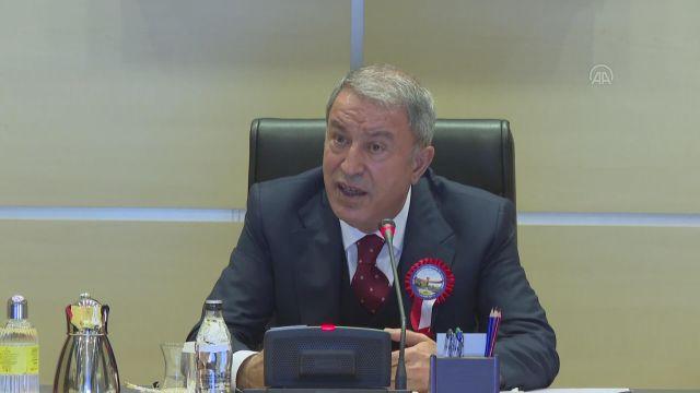 """İSTANBUL – Milli Savunma Bakanı Akar'dan """"Gereken ne varsa zamanı gelince yapılacak"""" mesajı (2)"""