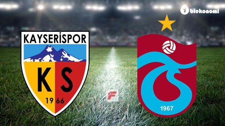 Kayserispor – Trabzonspor maçı hangi kanalda, saat kaçta? (Muhtemel…