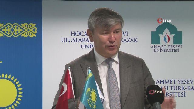 """Kazakistan'ın Ankara Büyükelçisi Saparbekuly: """"Türkiye ile Kazakistan dosttan öte bir kardeştir"""""""