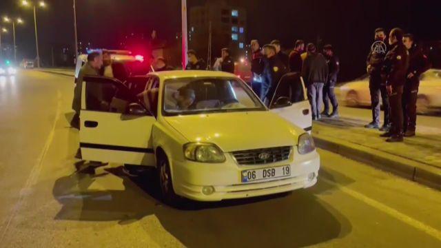 KOCAELİ – Polisten kaçan şüpheli kovalamaca sonucu yakalandı