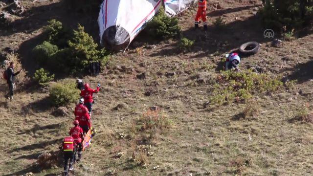 KONYA – Uçak kazası tatbikatı, gerçeğini aratmadı