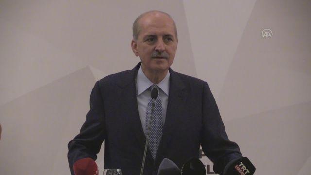 MARDİN – AK Parti Genel Başkanvekili Kurtulmuş, STK temsilcileriyle bir araya geldi (1)