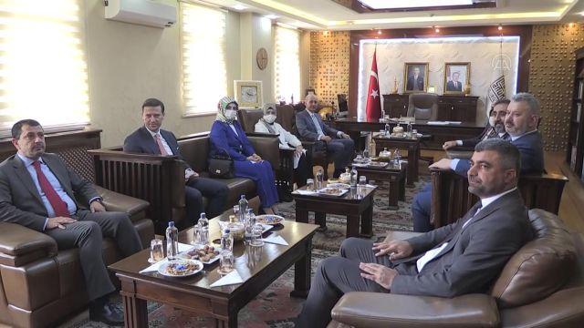 MARDİN – AK Parti Genel Başkanvekili Numan Kurtulmuş, ziyaretlerde bulundu