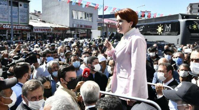 Meral Akşener: Bu harami düzeni sandıkta, demokrasiyle yıkacağız