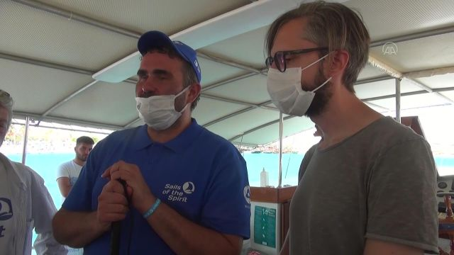 """MERSİN – Engellilere yönelik """"Ruhun Yelkenleri"""" projesi kapsamında etkinlik yapıldı"""