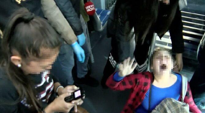 Metrobüs duraklarında operasyon! Çocuklar korkudan ağladı
