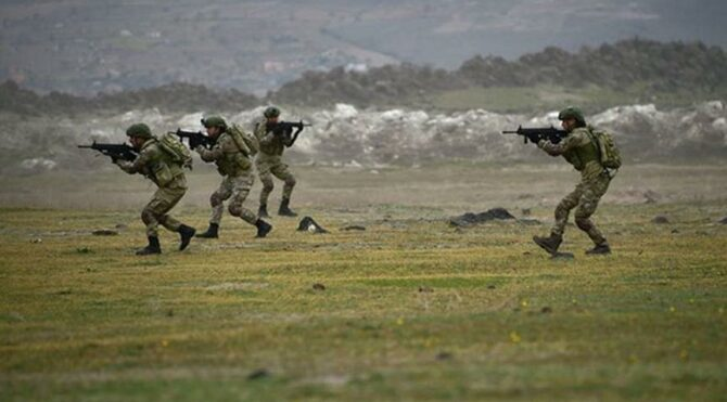 MSB: 16 PKK/YPGli terörist etkisiz hale getirildi