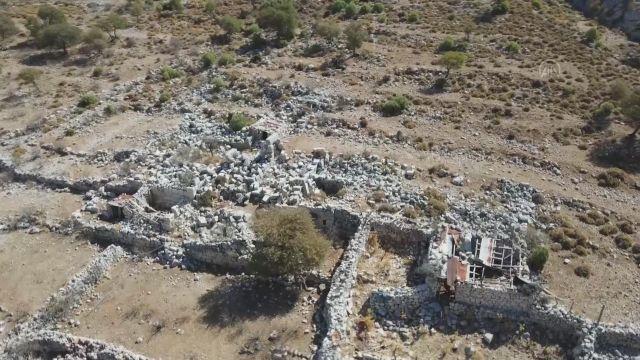 MUĞLA – Marmaris'te Phoneix Antik Kenti gün yüzüne çıkarılacak