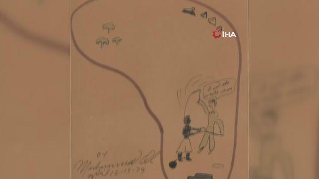 – Muhammed Ali'nin çizdiği resimler yaklaşık 1 milyon dolara satıldı