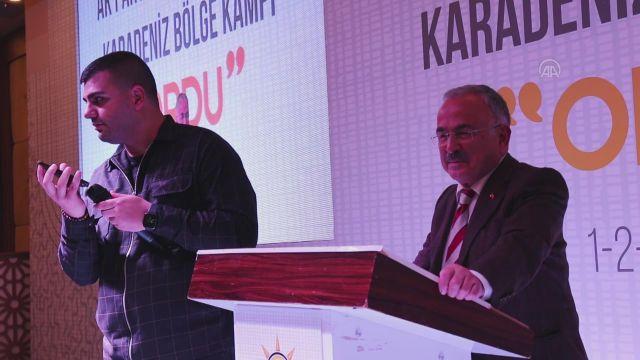ORDU – AK Parti Gençlik Kolları Genel Başkanı İnan, Karadeniz'deki eğitim kampına katıldı