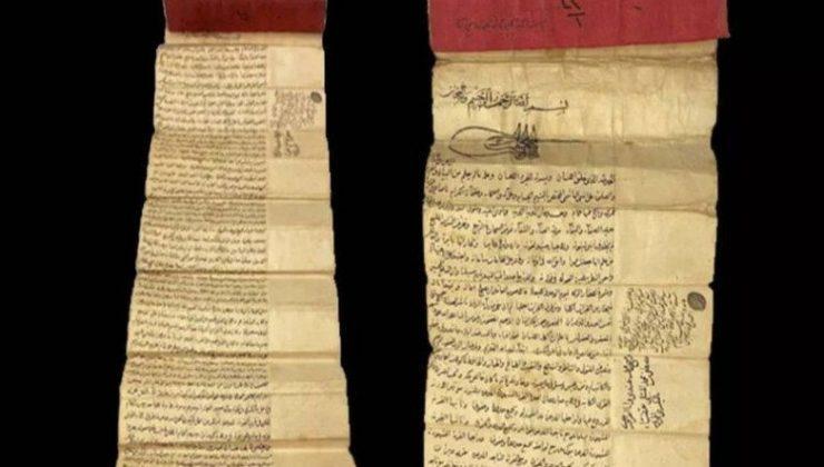 Osmanlı Dönemine Ait Kayıp Vakfiye, İngiltere'de Bir Müzayedede Ortaya Çıktı