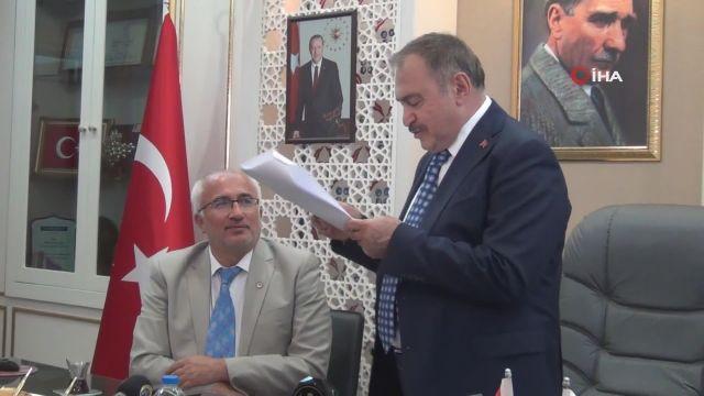 Prof. Dr. Veysel Eroğlu, Tavşanlı'da
