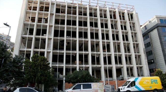 Reza Zarrab'ın eski holding binası hırsızların hedefi oldu