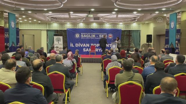 SAKARYA – AK Parti'li Yavuz, Sağlık-Sen Sakarya Divan Toplantısı'nda konuştu