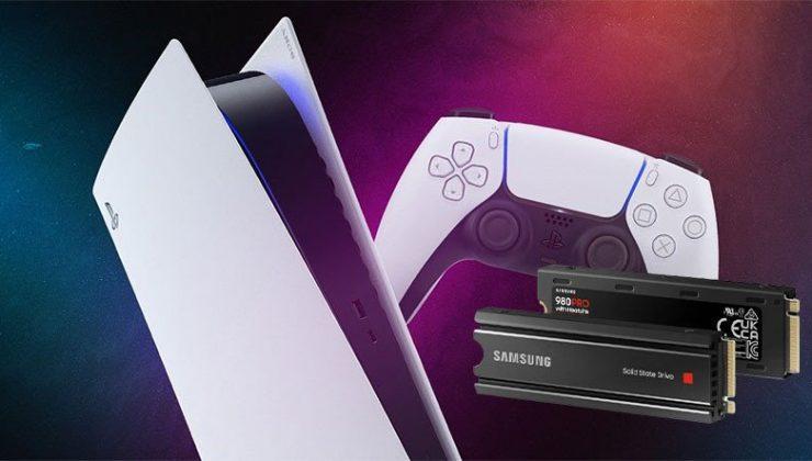 Samsung, PlayStation 5 için Kendinden Soğutuculu SSD Modelini Duyurdu