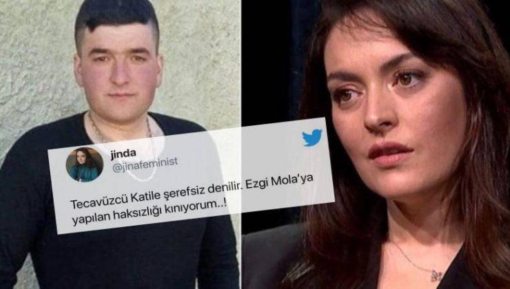 Tecavüzden Yargılanan Musa Orhan'a 'Tecavüzcü' Dediği İçin Ceza Alan Ezgi Mola'ya Twitter'da Destek Yağdı