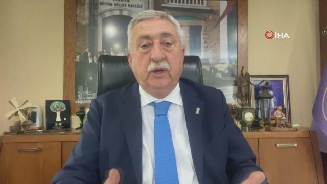 """TESK Başkanı Palandöken: """"Türkiye'de günde 7 milyona yakın ekmek çöpe giderken enerjinin yüzde 35'i israf ediliyor"""""""