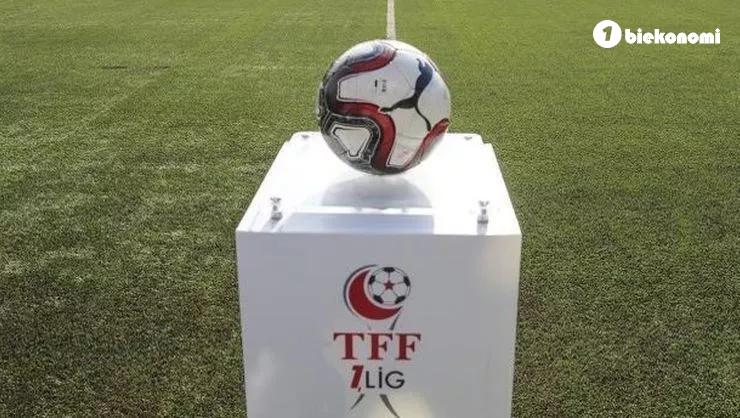 TFF 1. Ligde 9. haftanın programı açıklandı