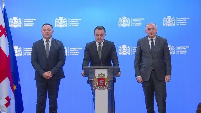 TİFLİS – Başbakan Garibaşvili, eski Gürcistan Cumhurbaşkanı Saakaşvili'nin gözaltına alındığını açıkladı