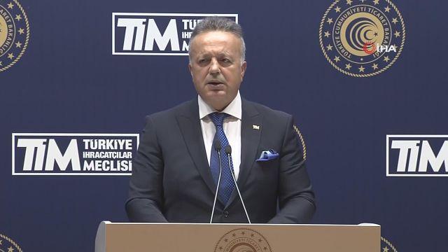 """TİM Başkanı Gülle: """"212,2 milyar dolar ile yıllık hedefi aştık"""""""