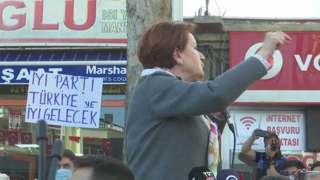 """TOKAT – Akşener: """"Seçmen velinimettir"""""""