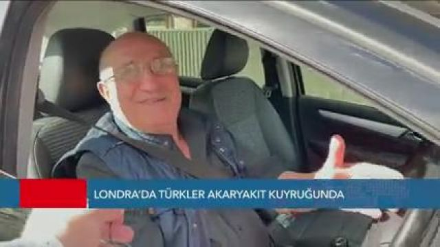 Türkiye'den Göçmenler Londra'da Benzin Avında