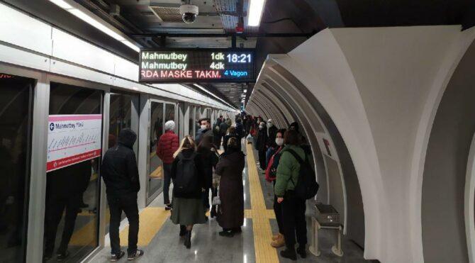 Ücretsiz internet Marmaray'a var, İBB'nin metrosuna yok