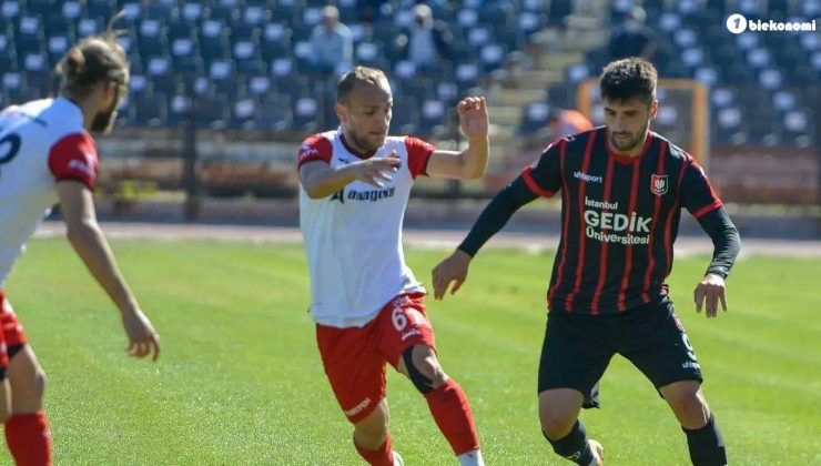 Uşakspor – Anagold 24Erzincanspor maç sonucu: 1-0