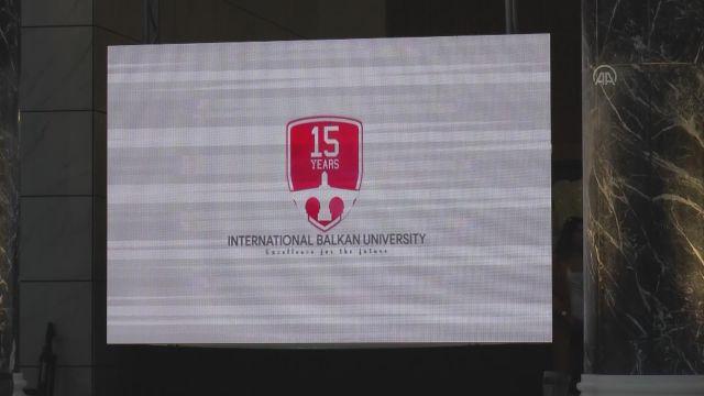 ÜSKÜP – Uluslararası Balkan Üniversitesinde mezuniyet heyecanı