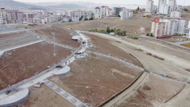 Yumurtatepe bölge parkı çalışmaları hızla devam ediyor
